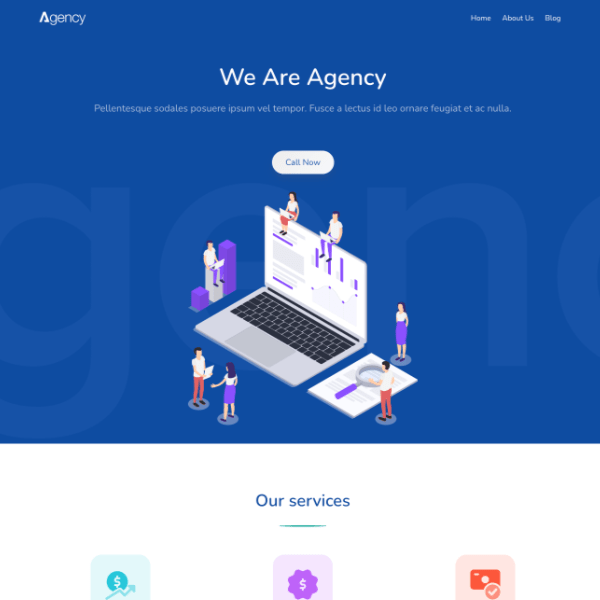 Greenlet agency template