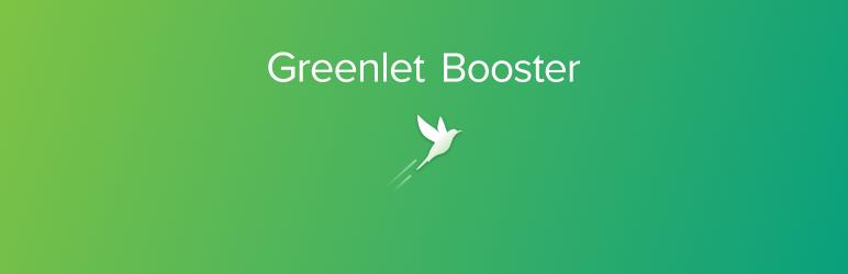 Greenlet Booster Banner