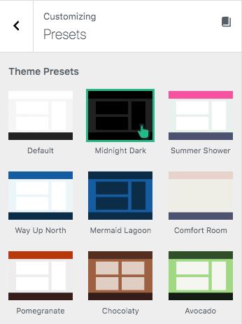 Theme Presets